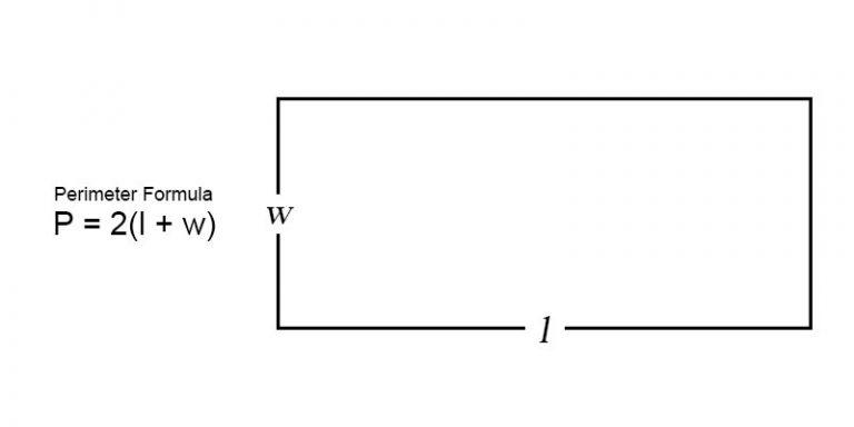 perimeter of a rectangle