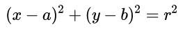 equation of circle standard form