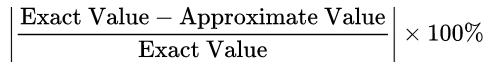 percent-error